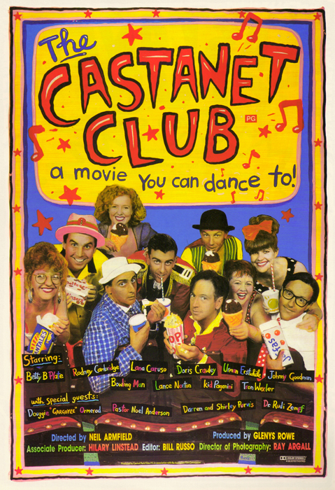 1991 Castanet Club Poster