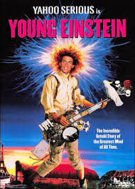Young Einstein poster